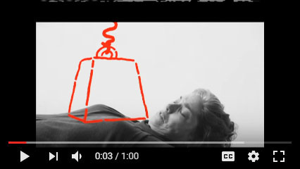 """Captura de pantalla del video de YouTube """"Haga la llamada, ¡no pierda tiempo! Anuncio de Servicio Público""""."""