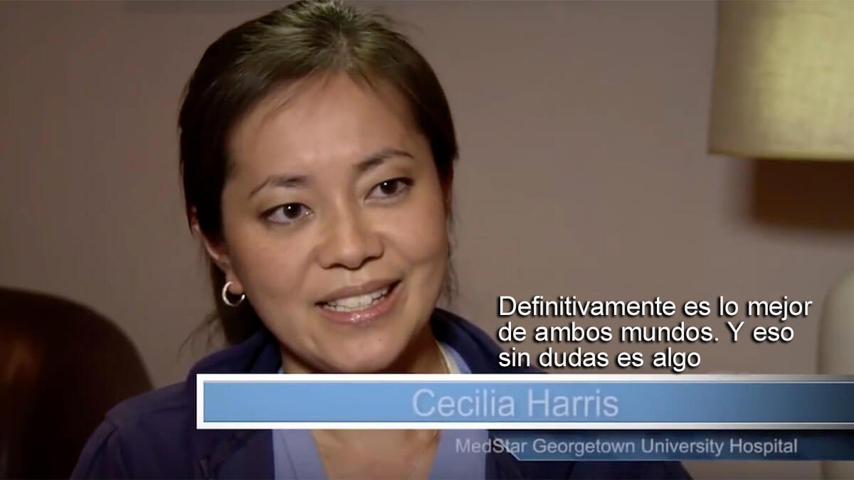 Vista en miniatura del video. La leyenda dice: Cecilia Harris, MedStar Georgetown University Hospital